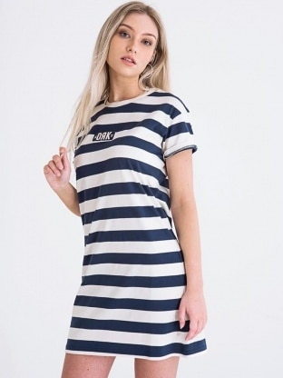 BODY STRIPED DRESS WOMEN