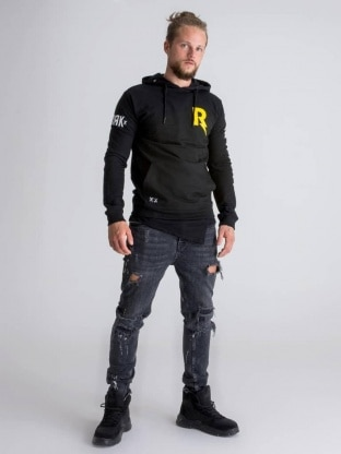 DRK x Rock The City hoodie men